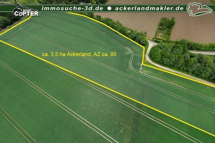 Luftbild Ackerland