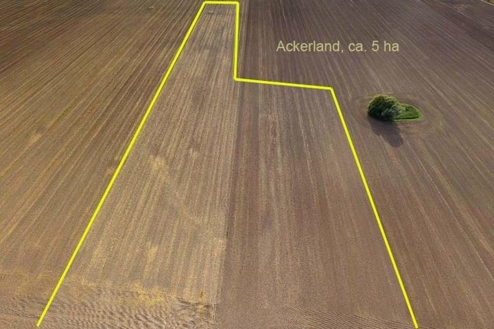 Ackerland Luftbild