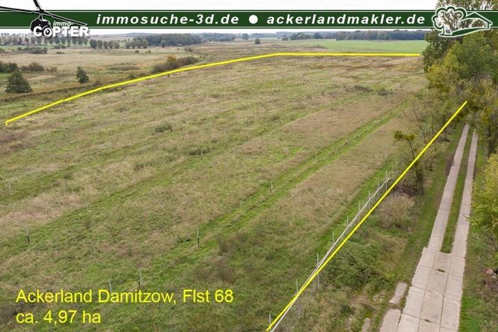 Luftbild Ackerland Damitzow
