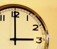 Wer zu spät kommt, den bestraft das Leben