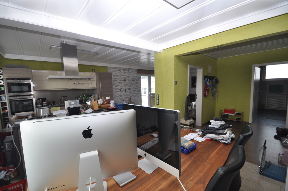 Sehr große Wohnküche-1.OG