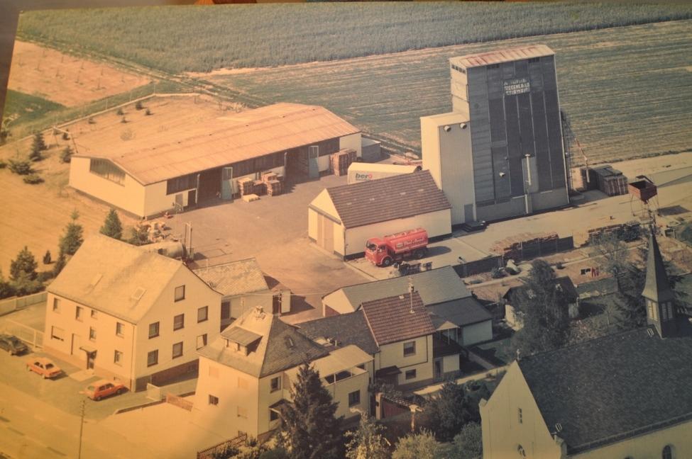 Luftaufnahme vom Areal