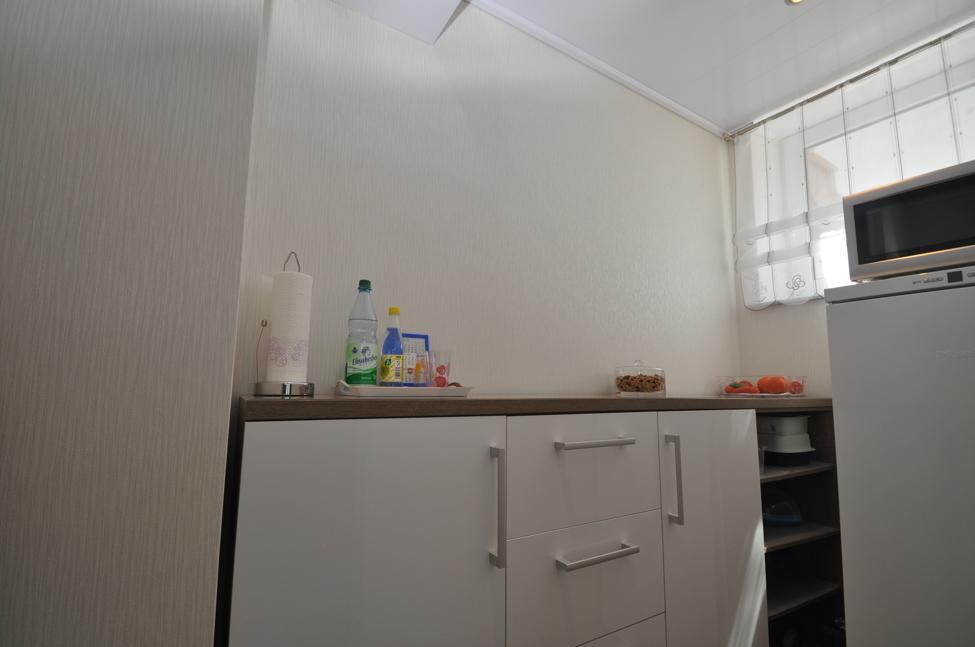 Abstellraum neben der Küche