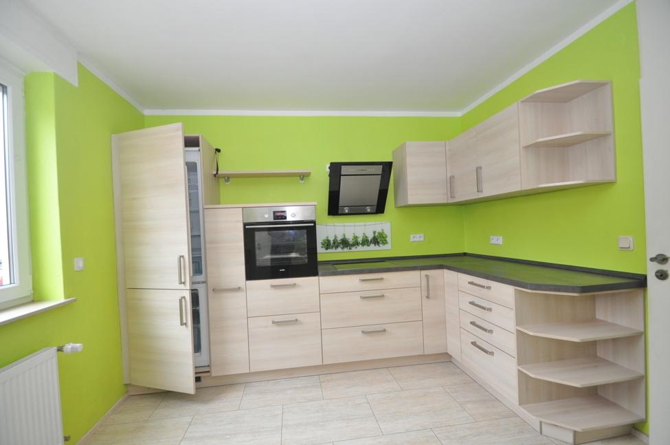 Große Neue Wohnküche