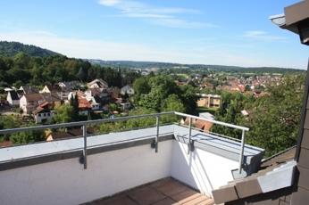 Balkon mit Fernblick