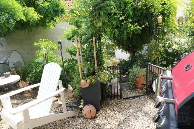 mediterran angelegter Garten