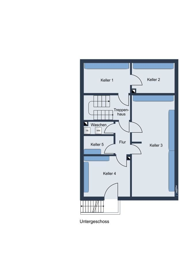 Grundriss Untergeschoss