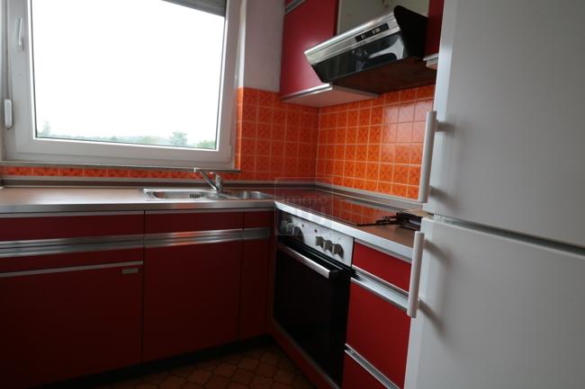Retro- Einbauküche
