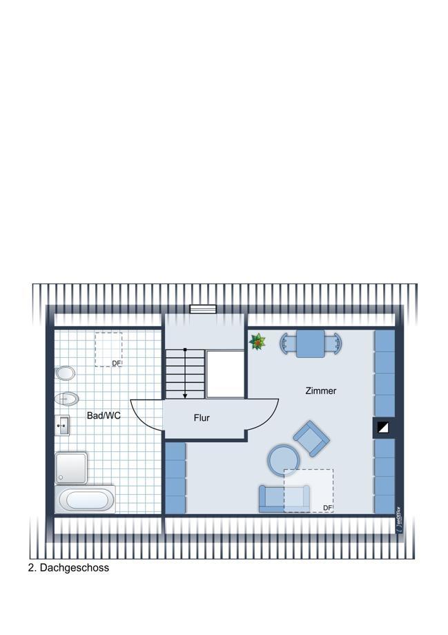 Grundriss 2. Dachgeschoss