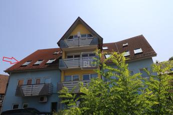 Riesige DG-Wohnung