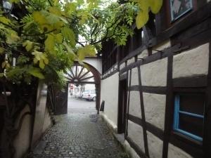 idyllischer Innenhof