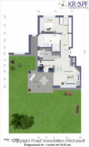 Erdgeschoss Nr 1 rechts