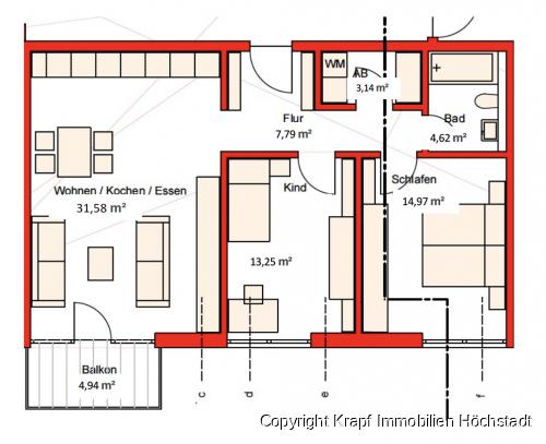 Wohnung Nr. 2