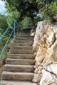 Treppen zum Strand