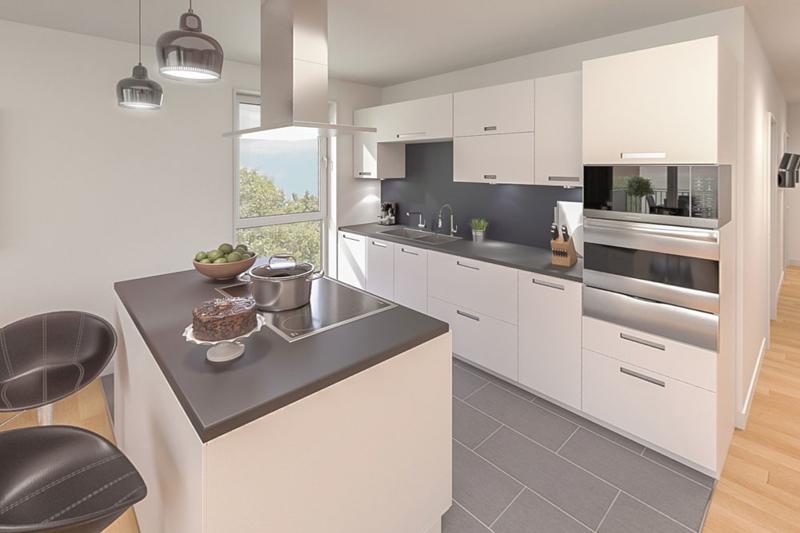 Visualisierung Küche (OG rechts)