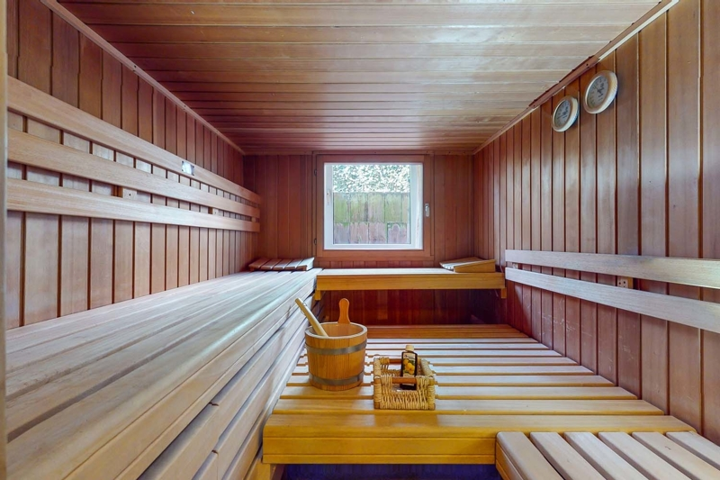 Souterrain: Sauna