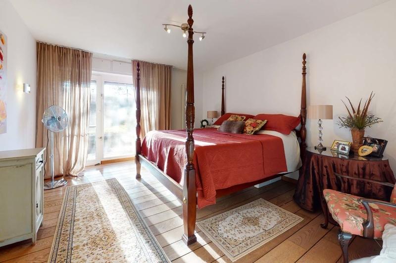 Schlafzimmer im Gartengeschoss