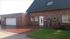 Eingang Haus + Garage
