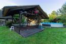 Pool, Platz, Privatsphäre: ein herrlicher Garten, oder?