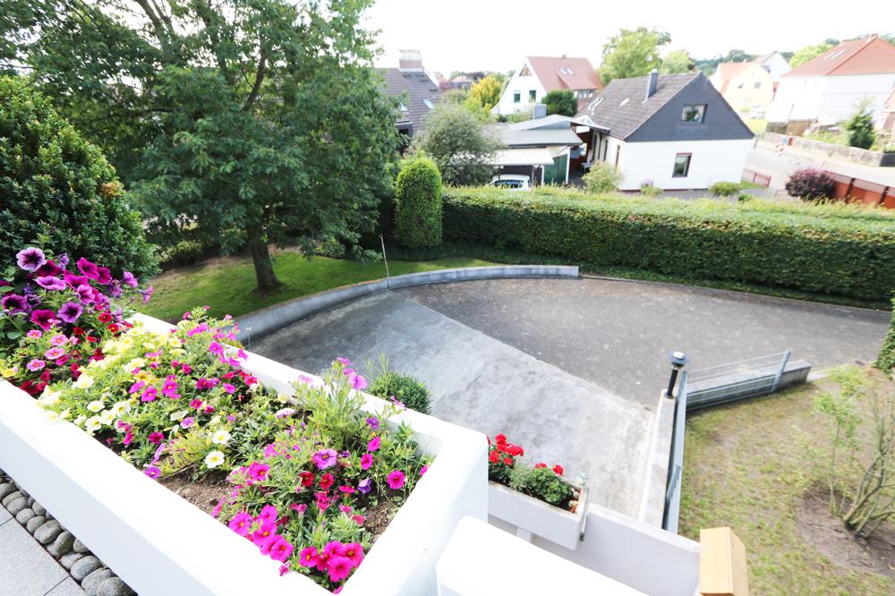 Loggia Ausblick