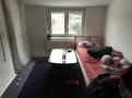 Das Wohnzimmer einer der Wohnungen (2)