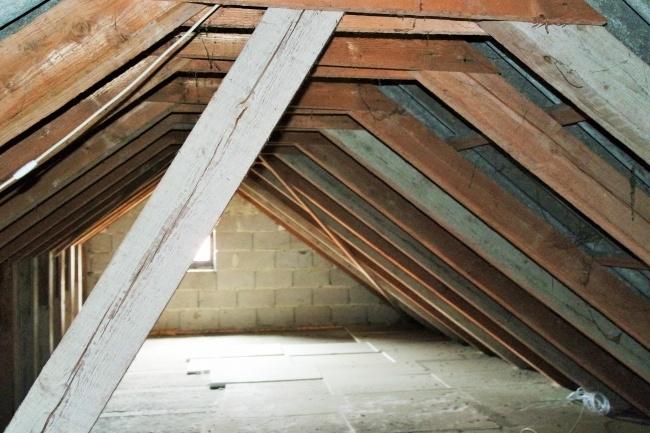 Dach, Anbau