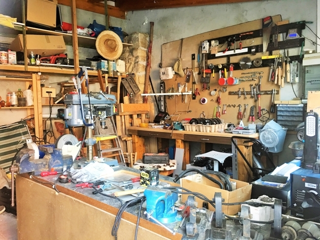 Anbau/Werkstatt