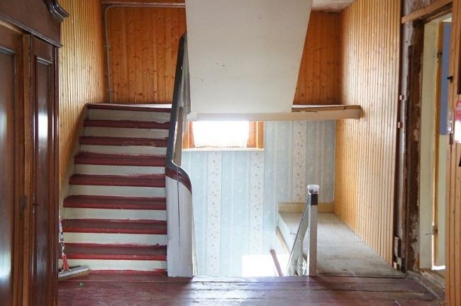 Holztreppenhaus