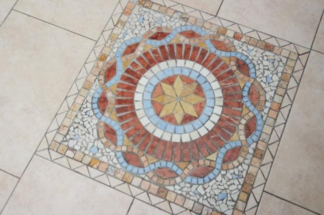 Fußboden im Wintergarten