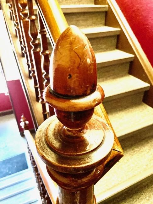 Treppenhaus Teilansicht