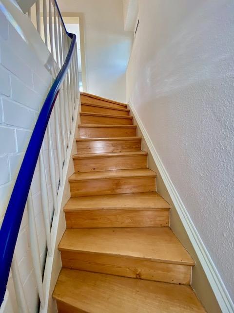 Treppenaufgang Wohnung OG.