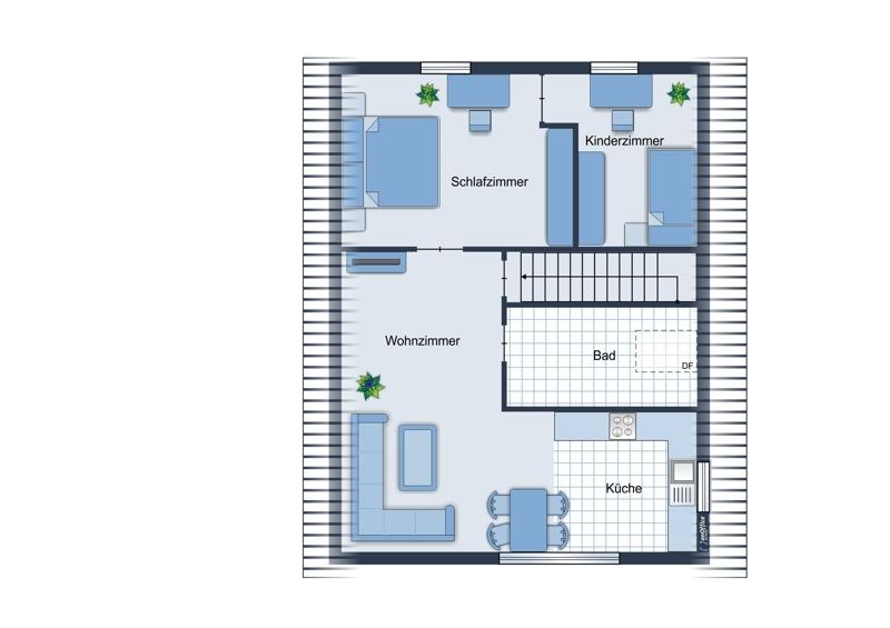 Skizze Dachgeschoss