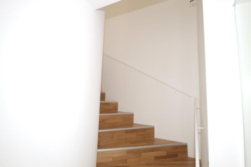 Treppengang zur oberen Wohnebene