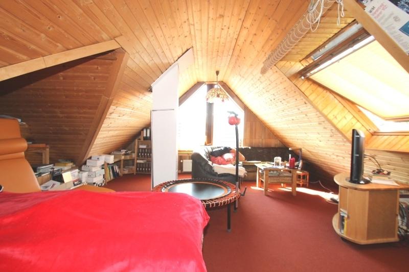 Wohnbereich Spitzboden