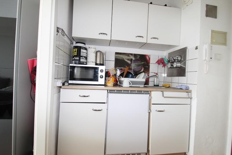 Möblierte Küchennische
