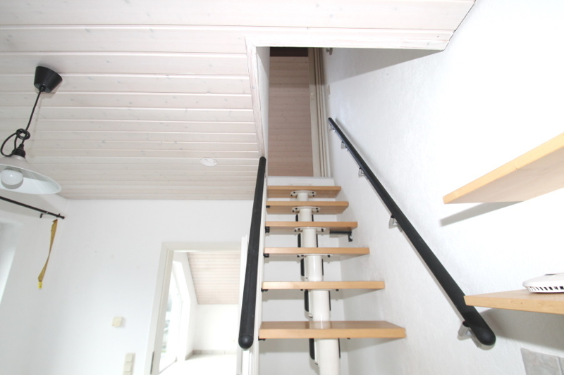 Treppe zum Spitzboden