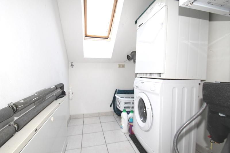 Platz für die Waschmaschine