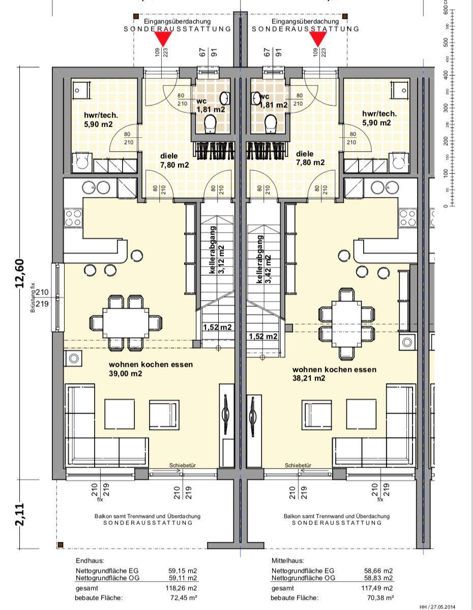 EG Doppelhaus ELK 119
