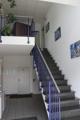 Treppenaufgang zum Büro