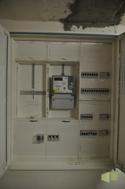 E-Zählerplatz mit Sicherungen, Flur KG