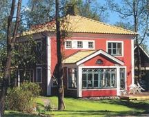 Hausansicht Villa Röd