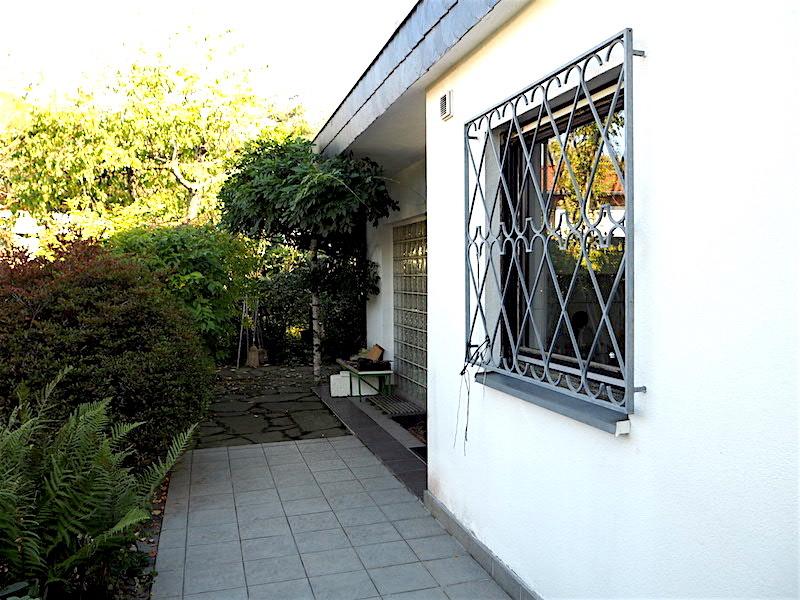 Eingangsbereich vor dem Haus