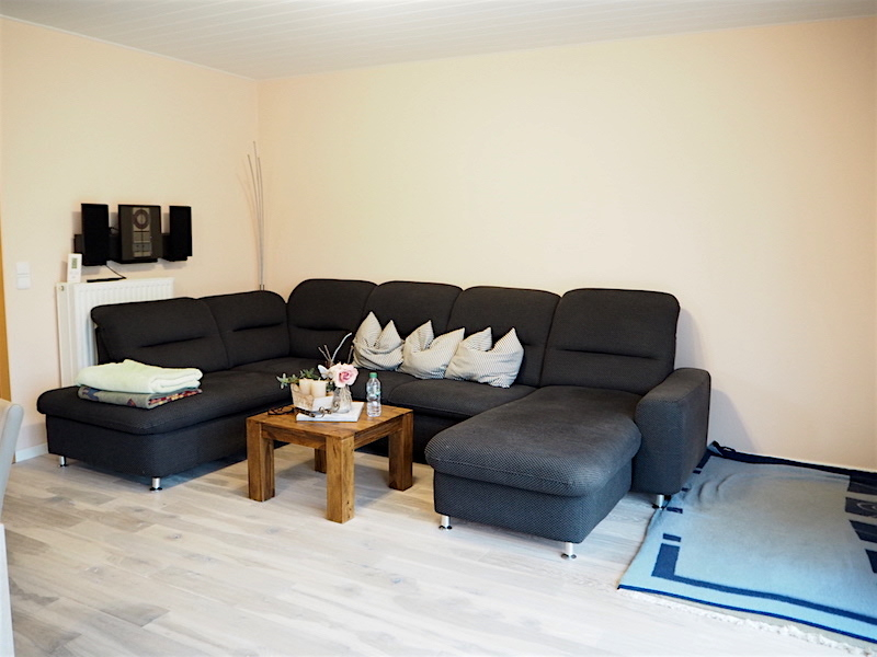 Sofa-Ecke im Wohnzimmer