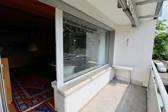 große Fensterfront Wohnen:Schlafen