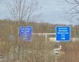 Autobahnkreuz A 8 - A 623