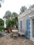 Terrasse vorm Gästehaus