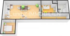 EG 2 Zimmer 3D
