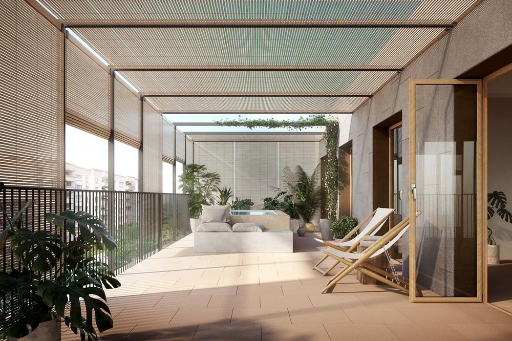 Apartament Tramuntana_1st passive apartment house in Palma City