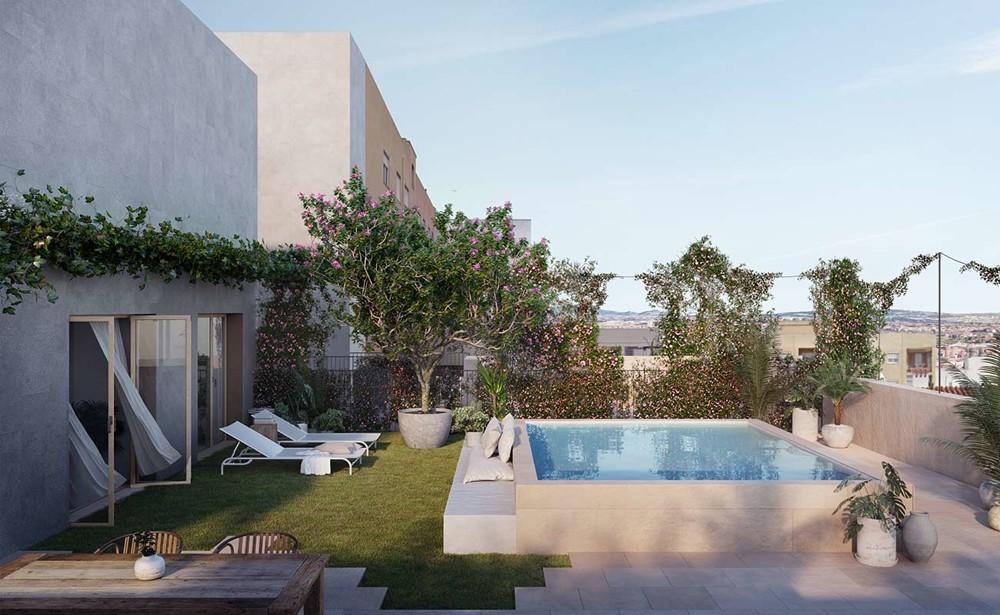 Apartment Xaloc_1st passive apartment house in Palma City