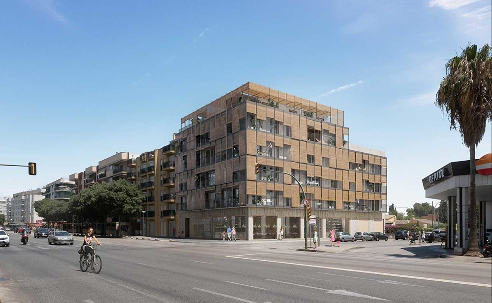 1st passive apartment house in Palma City